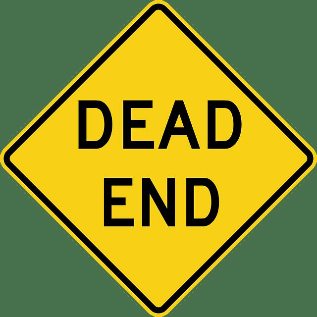 Image dead end