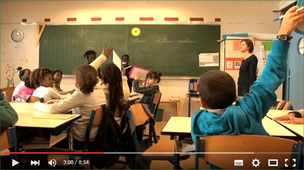 Utilisation Arbre à défis en classe