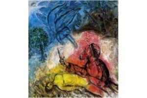 Chagall Sacrifice d'Isaac
